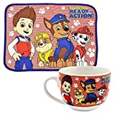 Paw Patrol Childrens/Kids Official Mug And Placemat (One Size) (Multicoloured)