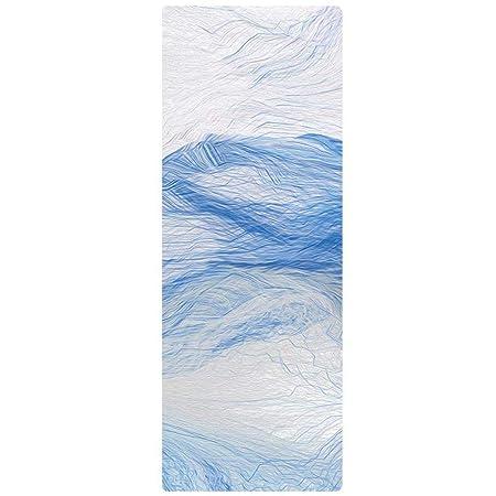 Yoy-mat 4 mm de Goma Natural Antideslizante Estera de Yoga ...
