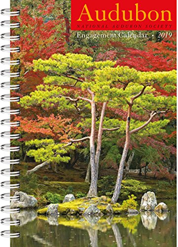 "Audubon Engagement Planner Calendar 2019 [6"" x 9"" Inches]"