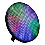 ION Audio ION-HELIOS Wall-Mounting Wireless Bluetooth Stereo Speaker with Multicolor LEDs & 15 Light Modes