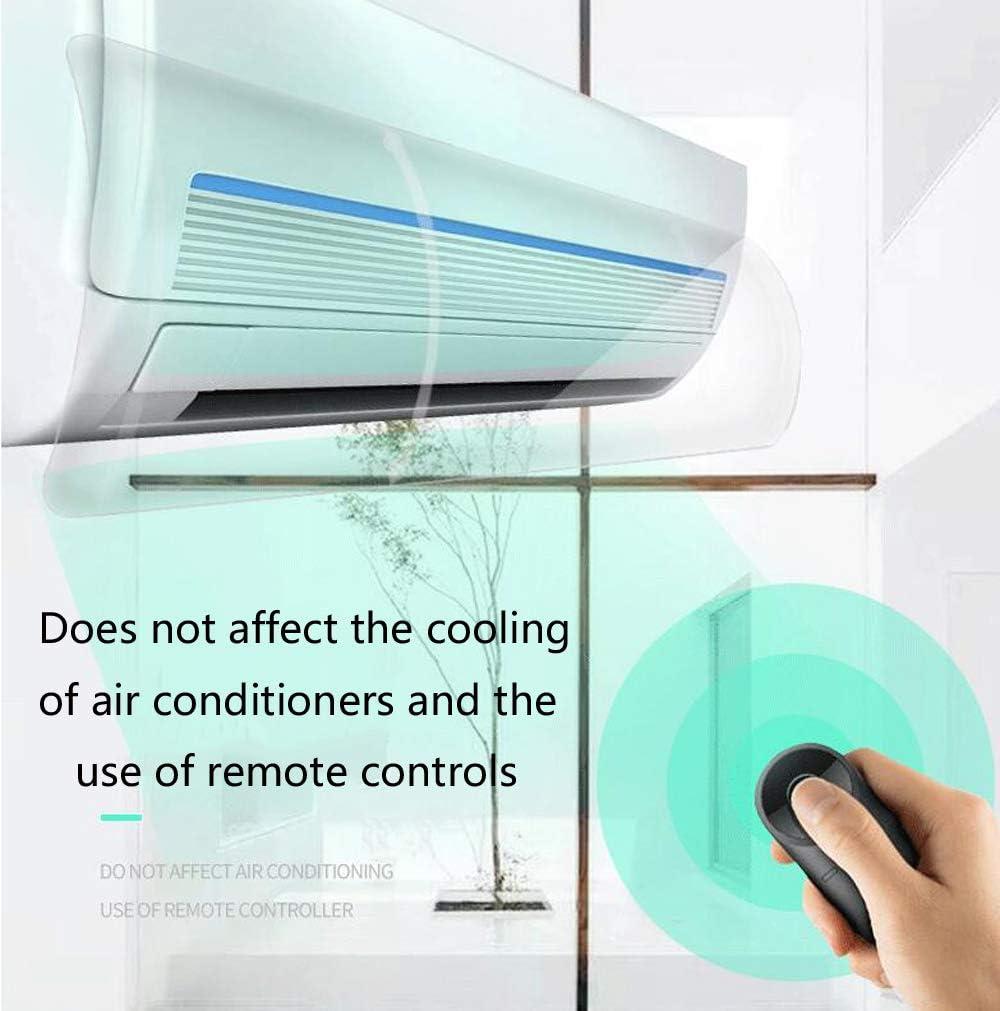 Impedisce LAria Fredda 90 Cm Peso Leggero Facile Installazione Deflettore Condizionatore dAria in PVC Stile Trasparente Deflettore Aria Condizionata Deflettore Universale