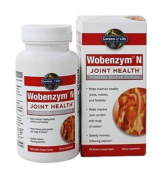 Amazon.com: Wobenzym N Wobenzym N 100 TAB: Health & Personal ...