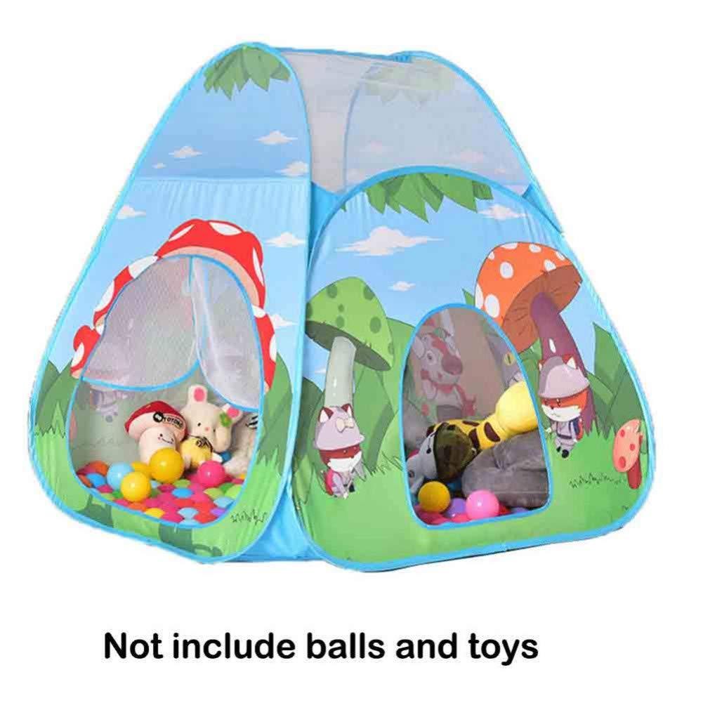 de moda Tent Tent Tent 27YXYSHU Play House Interior Y Exterior Fácil Plegable Ocean Ball Pool Pit Tienda De Juego Play Hut Girls Garden Playhouse Niños Tienda De Juguete para Niños  elige tu favorito