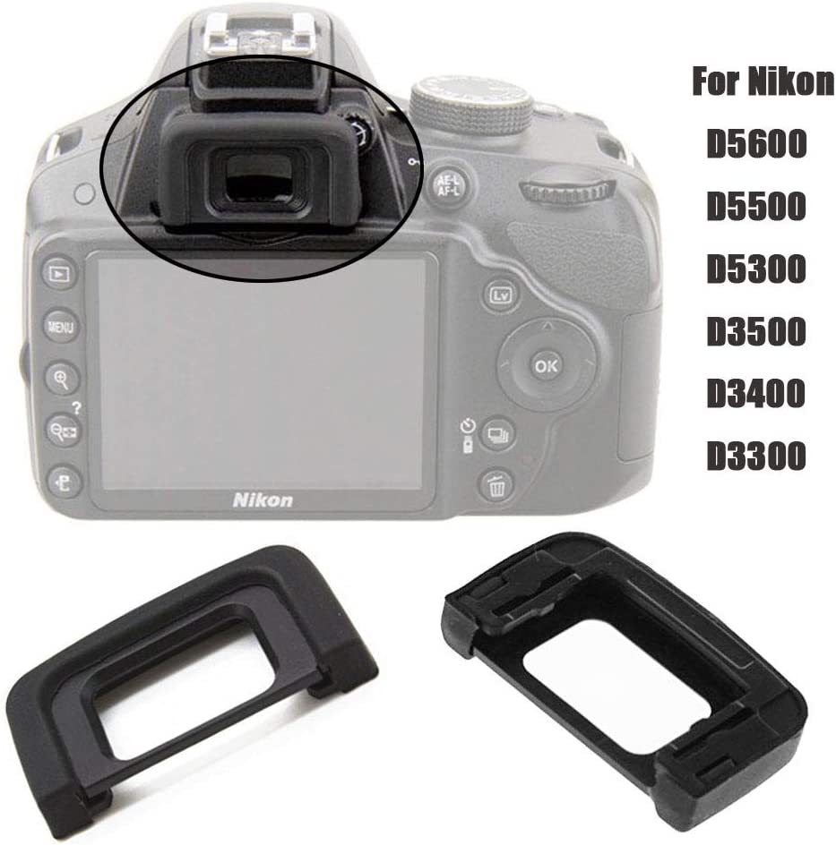 2X Mirino Oculare per Nikon D3500 D3400 D3300 D5600 D5500 D5300 sostituire dk-25