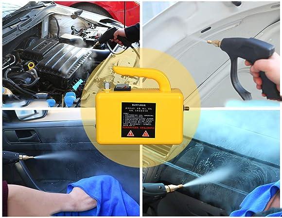 Carro De Limpieza A Vapor De Alta Presi/ón Multifunci/ón//Interior 220v 900ml,A Accesorios M/últiples Rong Limpiador A Vapor F/ácil De Usar//Esterilizador Port/átil