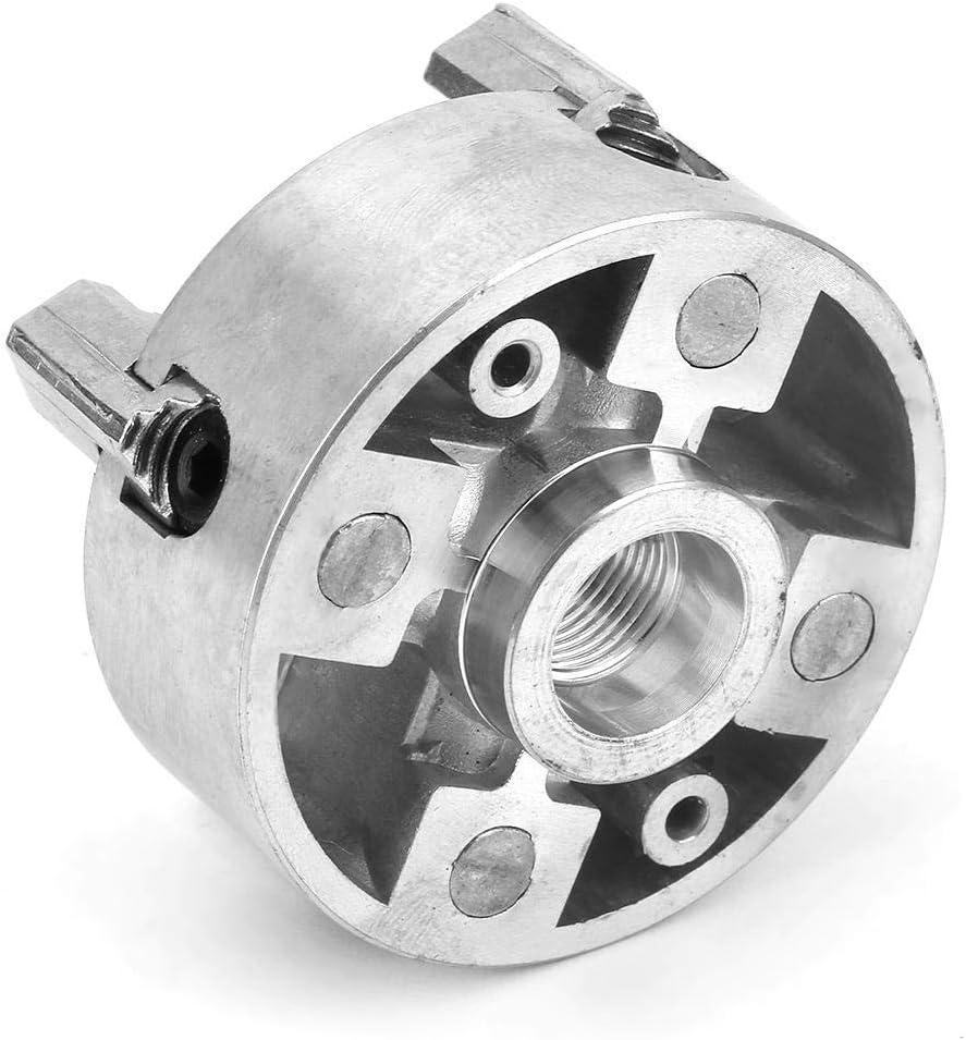 Yosoo Health Gear Z011A Mandril de Torno de 4 mand/íbulas de aleaci/ón de Zinc Accesorio de Abrazadera de Mandril de Torno autocentrante para Mini Torno de Metal