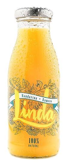 Linda Mandarina con Romero - Paquete de 24 x 250 ml - Total: 6000 ml