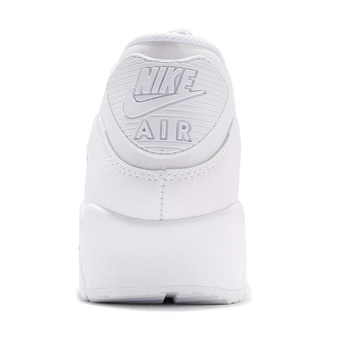 new style eeb61 dfa85 Nike Wmns Air Max 90 Lea, Scarpe da Trail Running Donna, Bianco (White White -White 101), 42 EU  Amazon.it  Scarpe e borse