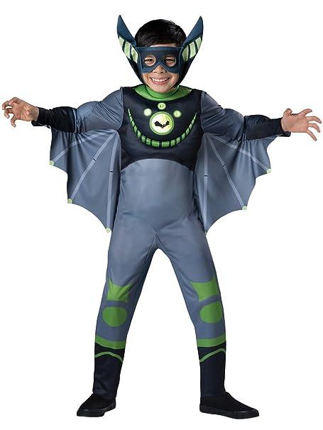 Amazon.com: Disfraz de murciélago verde de Wild ...