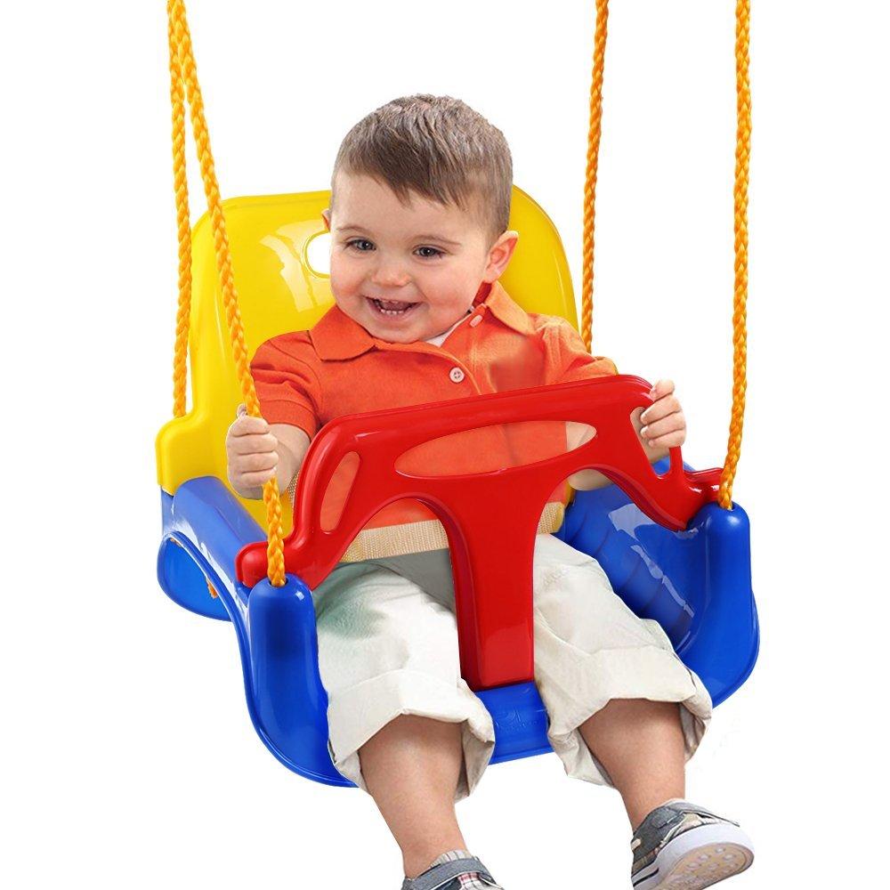 LifePlus 3 in 1 Multifunctional Baby Swing Hanging Basket Outdoor Sport Child Toy