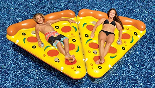 Swimline 90645   6 Foot By 5 Foot Giant Inflatable Pizza Slice