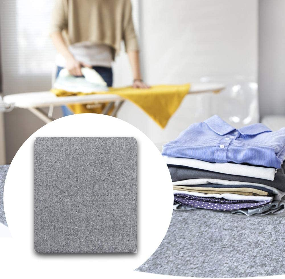 yummyfood Pressing Ironing Pad Felt Ironing Board With Iron Rest Ironing Mat Quilting Ironing Cloth For Home, 7 Size 12*18in(+iron Rest)