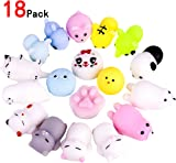 ZesGood 18 Pack Kawaii Squishies Toys Squishy Toys Squishy Packages Animal Squishy Mini Stress Toys