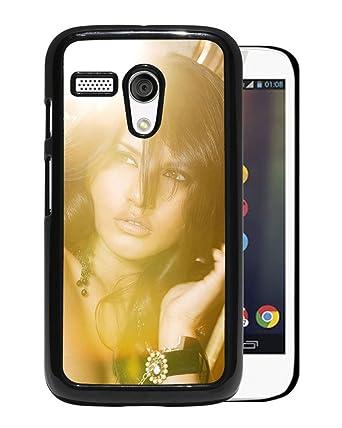 New Custom Designed Cover Case For Motorola Moto G With Sunny Leone Girl Mobile Wallpaper