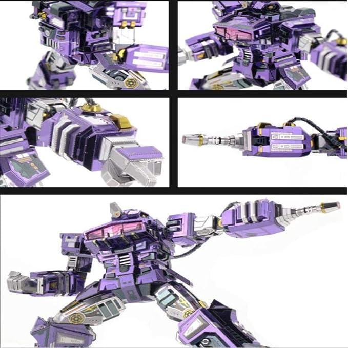 MQKZ Shockwave Transformers d Rompecabezas Tridimensional de ...