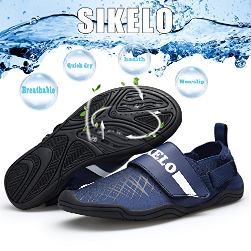Sikelo Water- En Damesschoenen Sneldrogend Blootsvoetsporten Lichtblauw