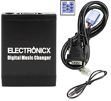 Adaptador de Radio para Coche USB SD AUX MP3 CD para Fiat Lancia Alfa Romeo Alfa Maserati Punto Doblo Idea Qubo: Amazon.es: Electrónica