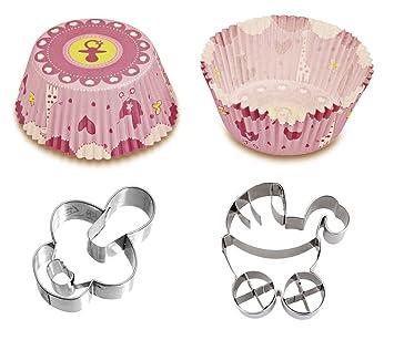 Caleidolex Back Set Baby Shower Niño - Nacimiento de niña - 50 ...