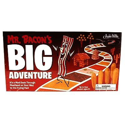 Mr. Bacon's Big Adventure Board Game: Toys & Games