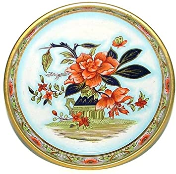 Daher Decorated Ware Tin Lithographed Decorative Tray With Oriental