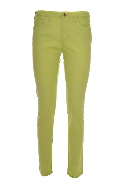 Armani JEANS Jeans de color J28 5 bolsillos, estirar, mujer ...