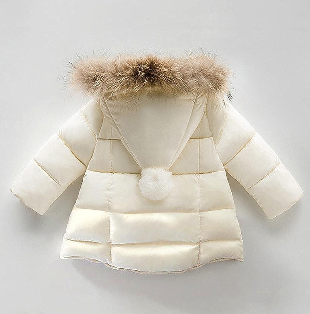 Jacke Mantel Kapuze Baumwolle Gepolstert Mantel Niedlich 0 ~ 4J Kinder Kleinkind
