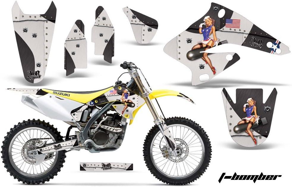 Accessories AMR Racing Graphics Kit for MX Suzuki RMZ 250 2004 ...