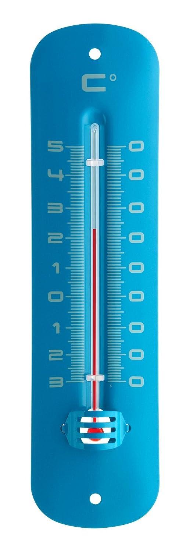 TFA 12.2051.06 –  Inside and Outside Thermometer Blue Metallic TFA Dostmann