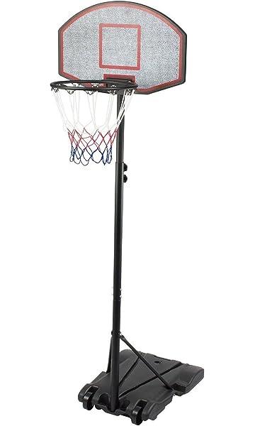 Panier de basket-ball réglable sur roulettes IUNNDS - 165-210 cm ...