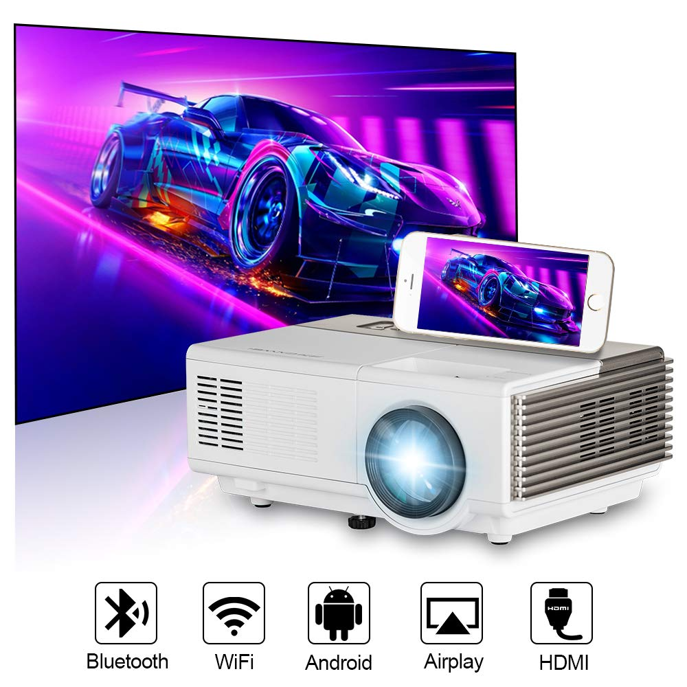 Mini Android Proyector inalámbrico Pantalla LCD LED Digital ...