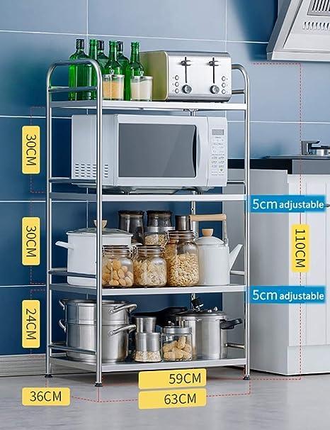 Shelf Rack de Unidades de Cocina multifunción, Rack de ...