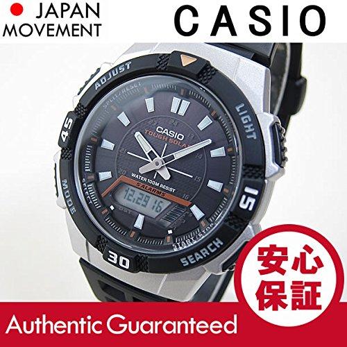 Casio Aq-S800W-1E / Aqs800W-1E Solar Digital × negro Silver reloj