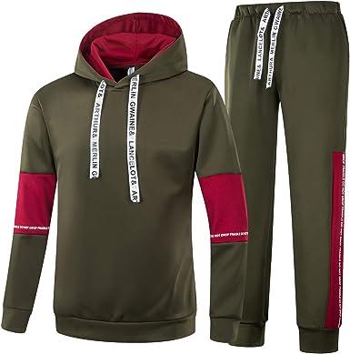 Hoodie Sportswear Casual Joggers Sweatshirt JUST DO IT Men Tracksuit Set Pants