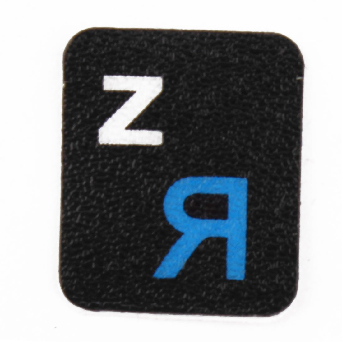 Sourcingmap Desktop Laptop Computer Russian Keyboard Decal Protector Large Letters Sticker Blue