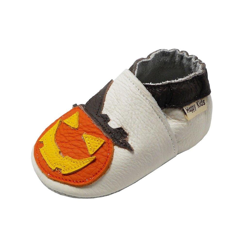 761e0babe4ec8 en soldes YIHAKIDS Bébé Filles Bébé Garçons Chaussures Cuir Souple Enfant  Chaussures Dessin Fantôme de potiron