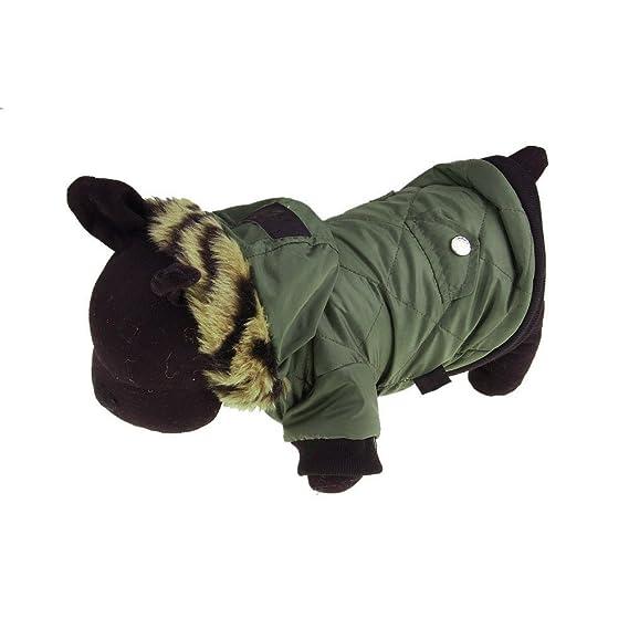 Ropa para Perros, ❤ Zolimx Perro Mascota Caliente Algodón Chaqueta Abrigo Sudaderas Cachorro Invierno Ropa Mascota Traje: Amazon.es: Ropa y accesorios