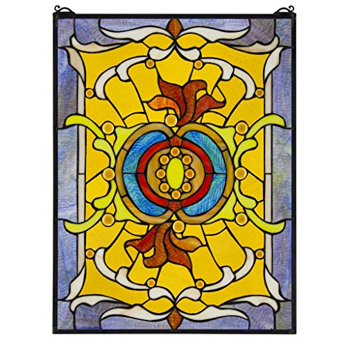 Stained Glass Panel - Gilded Age Stained Glass Window Hangings