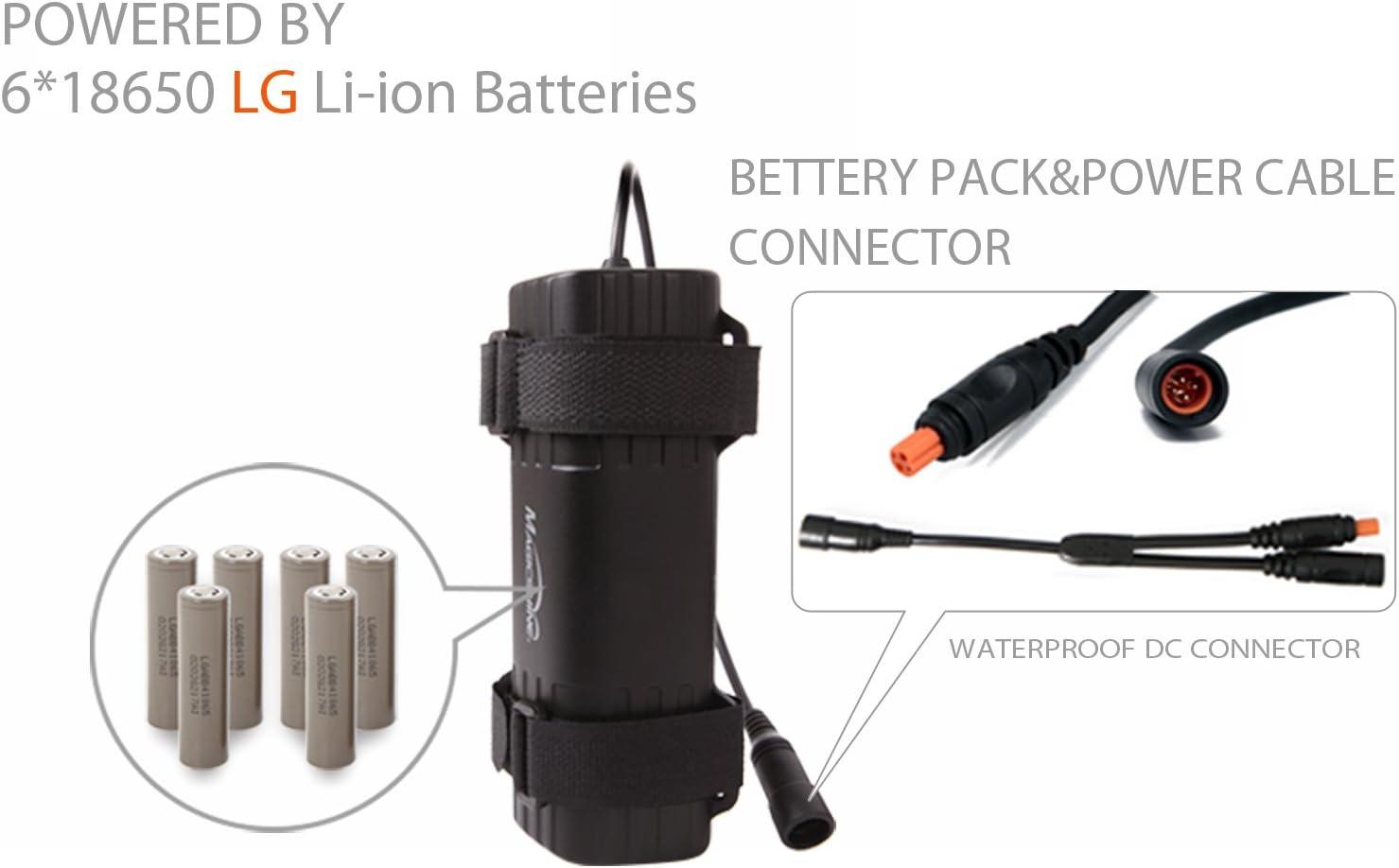 MJ-6106D Battery Pack 4 Pin Plug