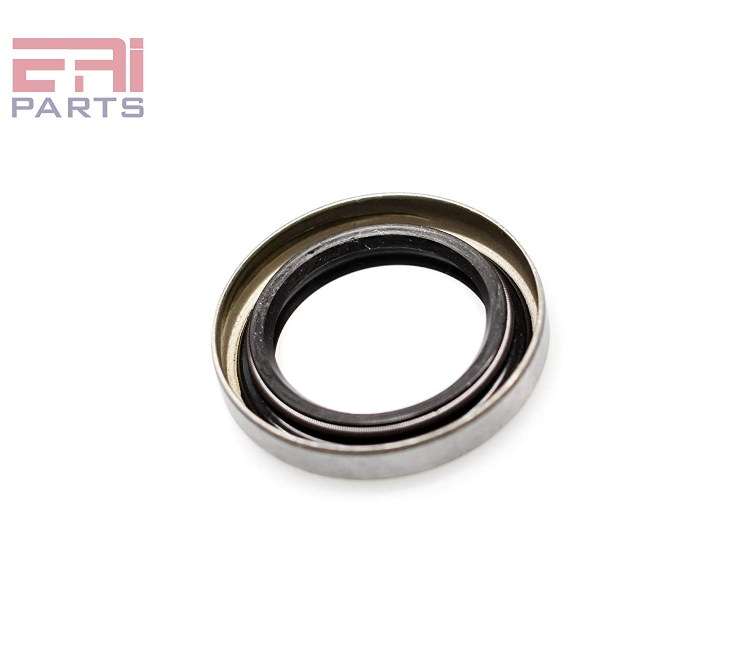 Oil Seal 1.000x1.500x0.250 Oil Seal Grease Seal TB 1x1 1//2x1//4 EAI Metal Case with Inner Coated Rubber with Spring