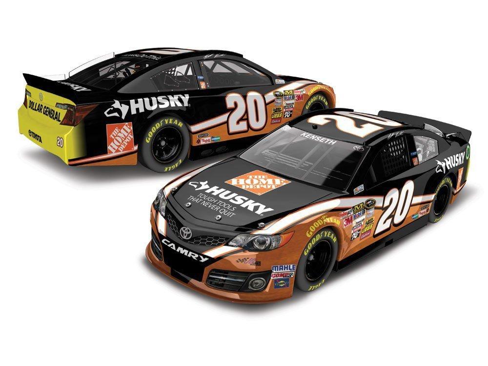 NASCAR Matt Kenseth #20 Husky/Home Depot 1/24 Car 2014 Action Racing