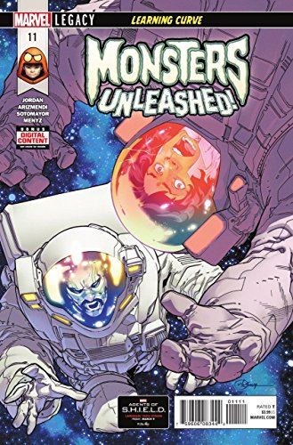 Monsters Unleashed (2017) #11 VF/NM R. B. Silva Cover