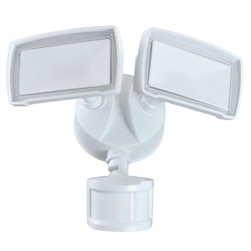 Good Earth Lighting LED Motion Activated Security Light - White