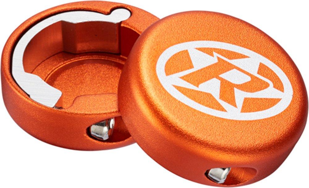 Reverse Kettenblattschrauben 4er Set Aluminium orange