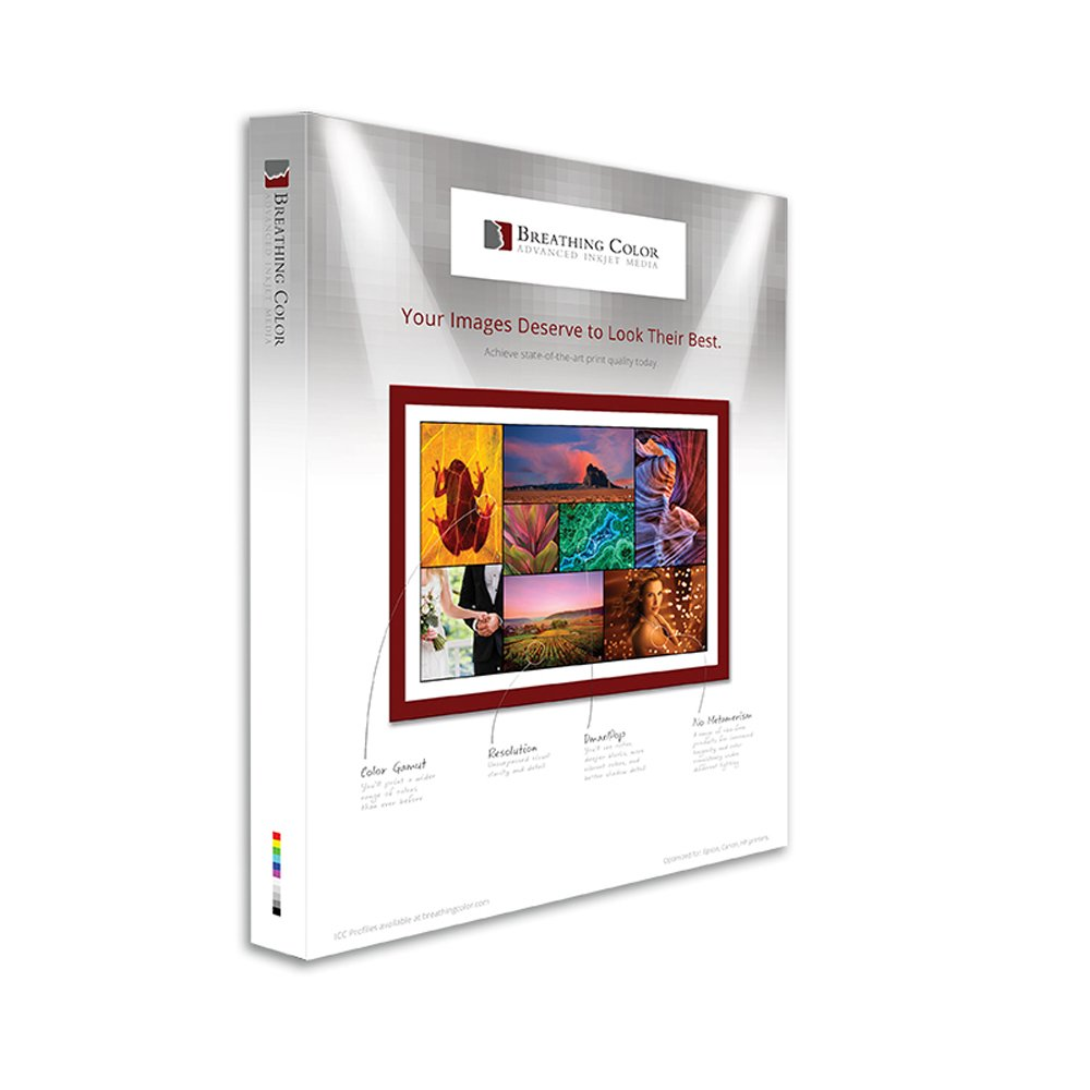 Optica One - Matte, 15.4 mil, 300gsm, Bright White, Fine Art Inkjet Paper, 8.5'' x 11'', 25 Sheets