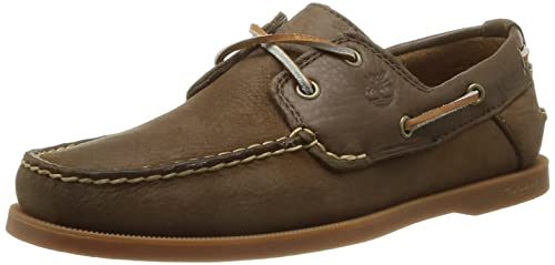 Timberland Men's Heritage CW Boat_Heritage CW Boat 2 Eye Boat Shoes Brown  6.5 UK (40