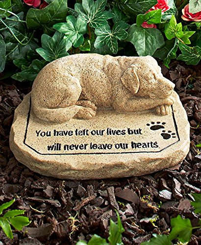 CTD Store Pet Memorial Stones -Keep the memory of a lost pet alive in your heart with this Pet Memorial Stone (DOG)