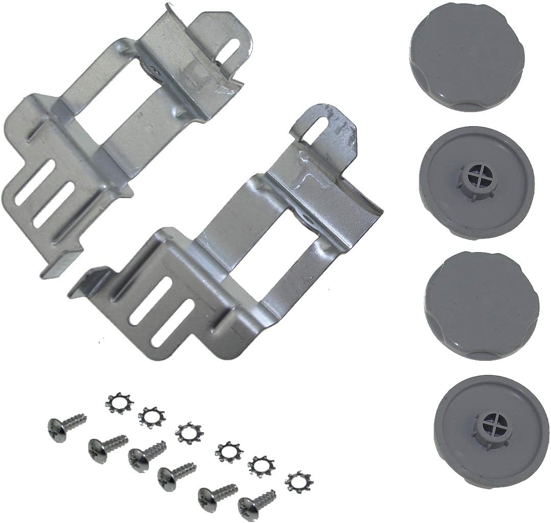 """WE25X10031, GE24STACK Stacking Kit for GE Washer/Dryer Laundry 24"""" Front Load"""