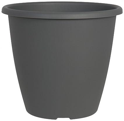 Pflanzkübel MONTANA rund aus Kunststoff