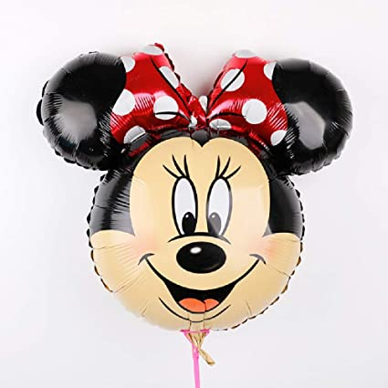 Amazon.com: Globos de Mickey Minnie grande gigante 44.1 in ...