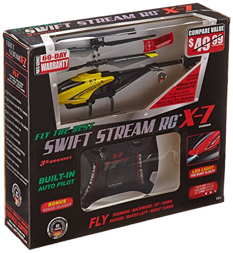 Swift Stream X-7 Helicopter, Yellow